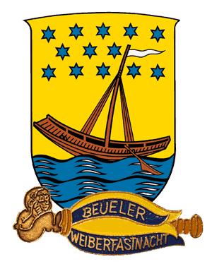 Wappen Beuel und Weinberfastnacht